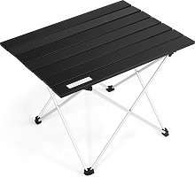 Costway Table de Camping Pliable en Aluminium