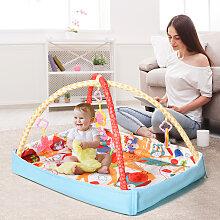 Costway Tapis d'éveil pour bébé tapis de jeu