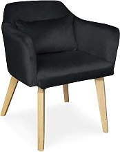 Cotecosy - Chaise / Fauteuil scandinave Gybson