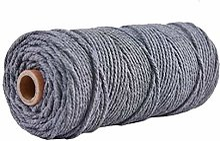 Coton Cordon Cordon coloré Corde Beige Twisted