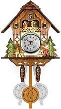 Coucou Antique Coucou Horloge Mural Horloge