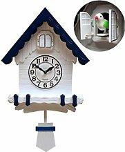 Coucou Cuckoo Quartz Horloge Murale Moderne