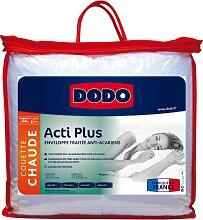 Couette DODO ACTI PLUS II anti allergies - 140x200