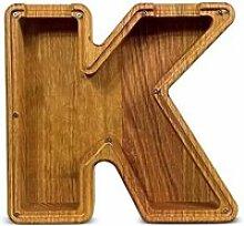 Couleur K Tirelire en bois pour garçons et
