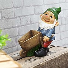 Country Living Nain de jardin avec brouette