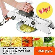 Coupe-légumes et fruits en acier inoxydable,