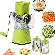 Coupe-légumes manuel multifonctionnel,