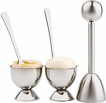 Coupe-oeuf à bouillie douce Coupe-oeuf Topper Set