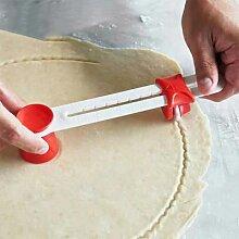 Coupe-pâtisserie avec rotatif réglable de