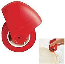Coupe-pâtisserie Portable pour Pizza, rouleau à