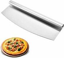 Coupe-Pizza en Forme de Croissant en Acier