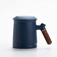Coupe-thé en céramique avec une tasse à café