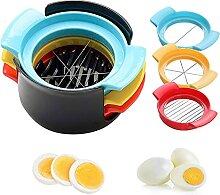 Coupe-œufs en Acier Inoxydable, Coupe Oeuf Dur 3