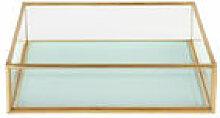 Coupelle / 16 x 16 cm - & klevering bleu en