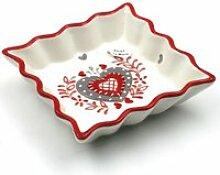 Coupelle Vide Poche - Rouge
