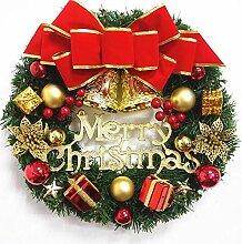 Couronne de Noël Décorations Artificielles