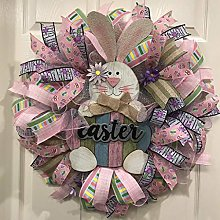 Couronne De Pâques Décorations Florales Bunny