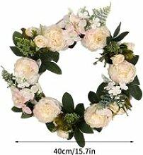 Couronne de porte Guirlande florale Guirlande de