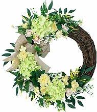 Couronnes D'hortensia Artificielles Fleur