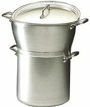 Couscoussier-ou marmite cuit-vapeur professionn...