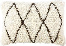Coussin berbère en laine et coton 40x60