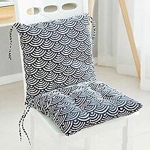 Coussin de Chaise à Bascule avec 6 Attaches,