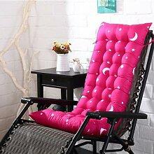Coussin de chaise à bascule épais, couleur unie,