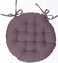 Coussin de chaise ronde Sylla Taupe