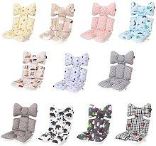 Coussin de siège coton imprimé pour bébé, pour
