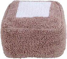 Coussin de sol pouf Marshmallow Square rose