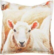 Coussin extérieur imperméable mouton