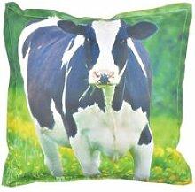Coussin extérieur imperméable vache large