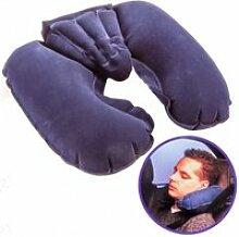 Coussin gonflable, oreiller, cale tête, nuque,