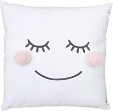 Coussin pompons fille home deco kids TX8498
