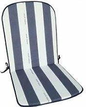 Coussin pour fauteuil haut dossier Cancale - gris