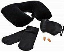 Coussin protege nuque masque de nuit bouchon
