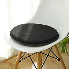 Coussin rond 40 cm Galette de chaise