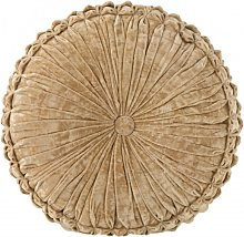 Coussin rond polyester or D45cm