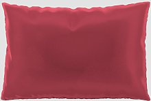Coussin Rouge Corail - 40x60 cm - Housse en