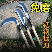 Couteau à faucille en acier au manganèse, outil