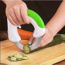 Couteau à pâtisserie, coupe-cuisine circulaire,