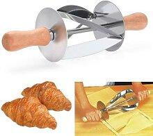 Couteau à rouler pour pain Croissant  