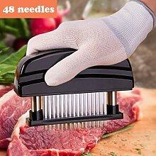 Couteau à viande en acier inoxydable, 48 lames,