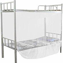 Couvercle de lit à baldaquin, moustiquaire à 4