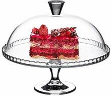 Couvercle en Verre de Gâteau D'Anniversaire