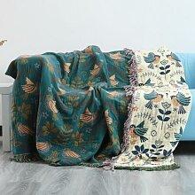 Couverture de coussin de canapé en mousseline de