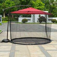Couverture de parapluie avec moustiquaire et