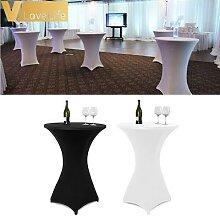 Couverture de Table à Cocktail en Lycra Spandex,