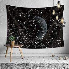 Couverture murale en tissu à motifs de ciel