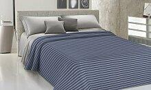 Couvre-lit : 1 personne et demi / Bleu